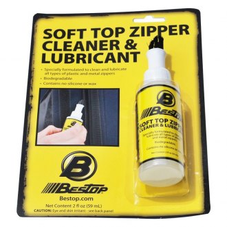 Bestop® - Soft Top Zipper Cleaner and Lubricant