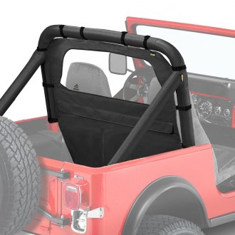 Bestop® - Windjammer™ Black Crush Rear Window