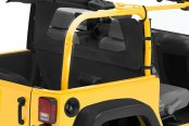 Bestop® - Windjammer™ Black Diamond Rear Window