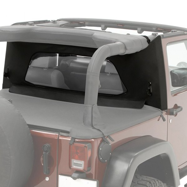 Bestop® - Windjammer™ Black Diamond Wrap-Around Rear Window