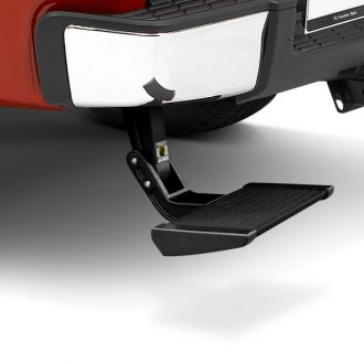 Bestop® - TrekStep™ Retractable Textured Black Driver Side Rear-Mount Truck Step