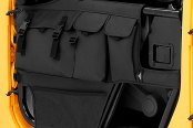 Bestop® - HighRock 4x4™ Element™ Doors Storage Bags (Black Diamond)
