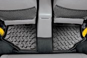 Bestop® - Black 2nd Row Floor Liner