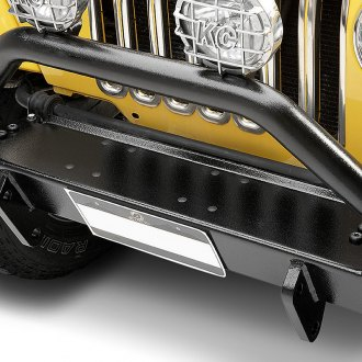 Bestop® - HighRock 4x4™ Full Width Black Front HD Bumper with Hoop