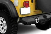 Bestop® - HighRock 4x4™ Satin Black Rear Bumper