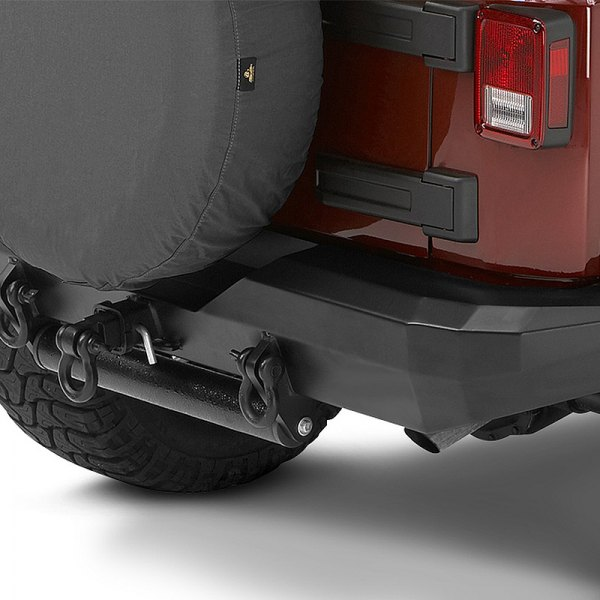 Bestop® - HighRock 4x4™ Satin Black Approach/Departure Roller for HighRock 4x4™ Bumpers