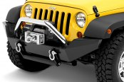 Bestop® - HighRock 4x4™ Stainless Grill Guard for HighRock 4x4™ Bumpers