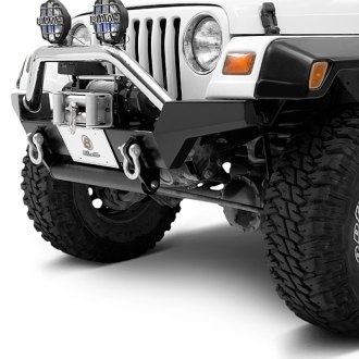 Bestop® - HighRock 4x4™ High-Access Full Width Front HD Winch Bumper