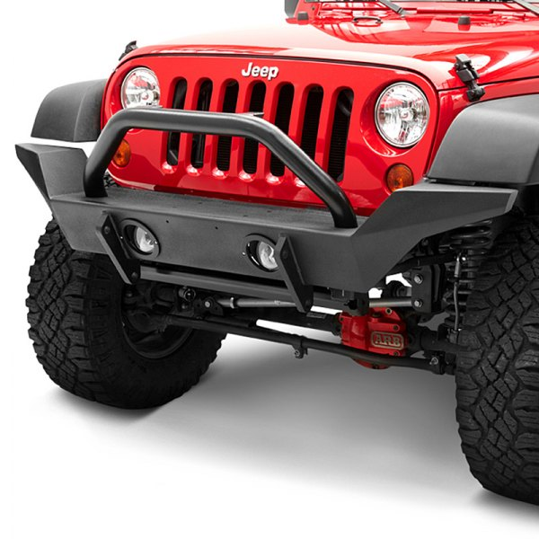 Bestop® - HighRock 4x4™ Satin Black High-Access Front Bumper