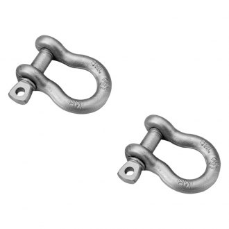 Bestop® - HighRock 4x4™ Silver D-Rings Shackle