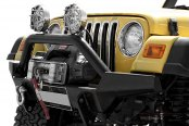 Bestop® - HighRock 4x4™ Matte Black High-Access Front Bumper