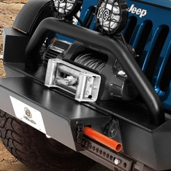 Bestop® - Black High Access Front Bumper