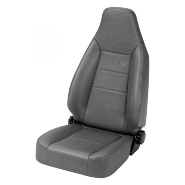 Bestop® - Charcoal/Gray TrailMax™ II Front Sport Seat (All Vinyl)