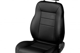 Bestop® 39451-01 - Black Crush TrailMax™ II Front Driver Side Pro Seat (All Vinyl)