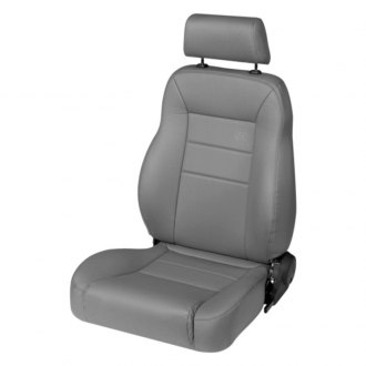 Bestop® - Charcoal/Gray TrailMax™ II Front Driver Side Pro Seat (All Vinyl)