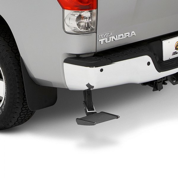 Bestop® - TrekStep™ Retractable Textured Black Rear-Mount Truck Step