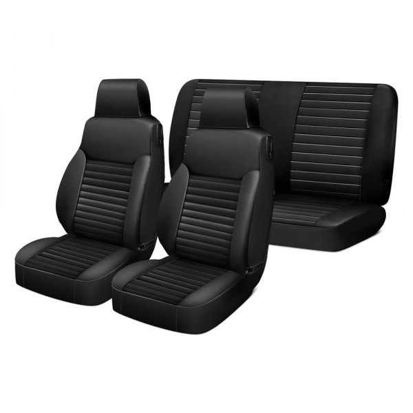 Bestop® - 1st Row Black Diamond Seat Covers