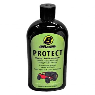 Bestop® - Soft Top Protectant for Black Twill Soft Tops
