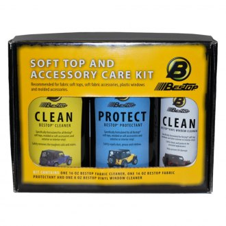 Bestop® - Soft Top Cleaner and Protectant Pack