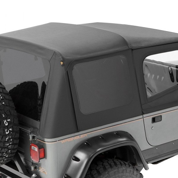 Bestop® - Replace-a-Top™ Black Crush Fabric-Only Soft Top