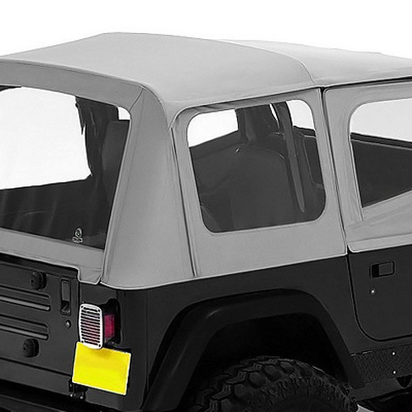 Bestop® - Replace-a-Top™ Charcoal/Gray Fabric-Only Soft Top