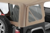 Bestop® - Replace-a-Top™ Dark Tan Fabric-Only Soft Top
