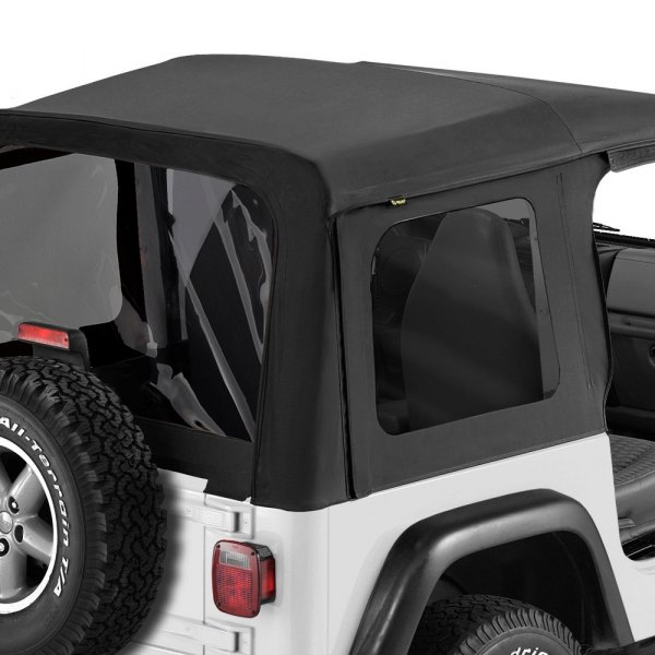 Bestop® - Replace-a-Top™ Black Denim Fabric-Only Soft Top