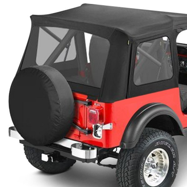 Bestop® - Supertop™ Classic Black Crush Complete Replacement Soft Top