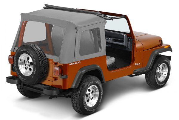 Bestop® - Sunrider™ Charcoal/Gray Complete Replacement Soft Top