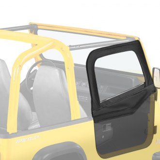 Bestop® - Fabric Upper Half-Door Set