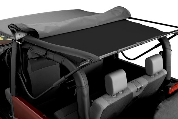 Bestop® - Black Soft Top Headliner