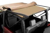 Bestop® - Dark Tan Soft Top Headliner