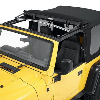 Bestop® - Supertop™ Matte Black Black Twill NX Complete Replacement Soft Top
