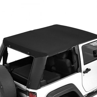 Bestop® - Trektop™ Pro Hybrid Black Twill Soft Top