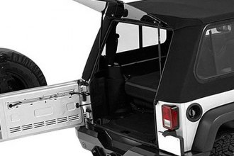 Bestop® - Trektop™ Pro Hybrid Soft Top, Black Twill