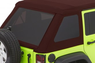 Bestop® - Trektop™ NX Glide™ Red Twill Convertible Soft Top