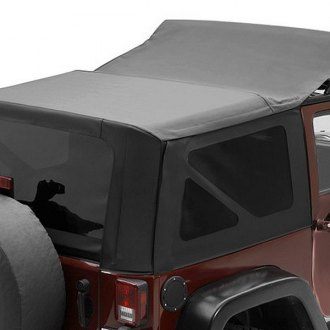 Bestop® - Replace-a-Top™ Black Diamond Sailcloth Soft Top