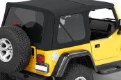 Bestop® - Replace-a-Top™ Black Twill Soft Top