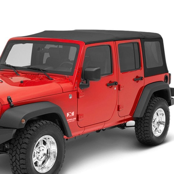 bestop jeep wrangler 2010 replace a top black twill. Black Bedroom Furniture Sets. Home Design Ideas