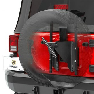 Bestop® - HighRock 4x4™ Black Oversize Tire Carrier