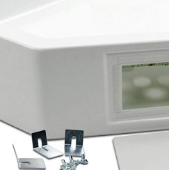 better bath neo angle rv shower pan
