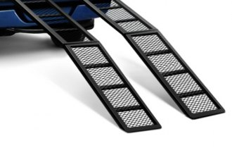 Better Built® - Black Steel Center Folding Straight Loading Ramp