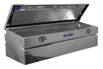 "Better Built® 62011310 - Crown RV Series 56"" Uncoated Aluminum Truck Tool Chest (Wide Tool Box)"