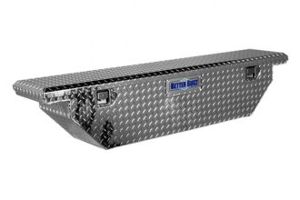 Better Built® - Crown Series Wedge Slimline Low Profile Crossover Single Lid Tool Boxes