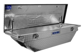 Better Built® - Crown Series Wedge Low Profile Crossover Single Lid Tool Boxes