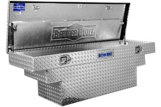 Better Built® - Crown Series Deep Crossover Single Lid Tool Boxes with Stair Notches