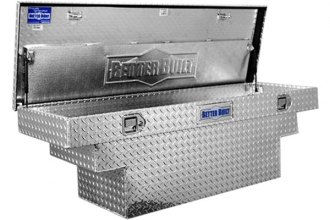 "Better Built® 73012238 - Crown Series 63"" Deep Crossover Single Lid Tool Box with Stair Notches"