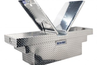 Better Built® - Crown Series Deep Stair Notches Dual Lid Gull Wing Crossover Tool Box