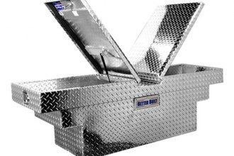 Better Built® - Crown Series Deep Crossover Double Lid Tool Boxes with Universal Stair Notches