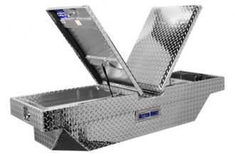 "Better Built® 74012073 - Crown Series 63"" Crossover Double Lid Tool Box with Corner Notches"